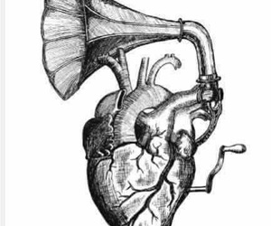 feeling, heart, and sounds image