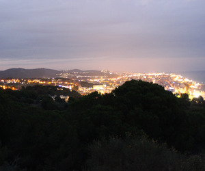 city, lights, and nature image