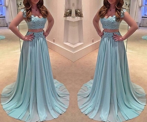 evening dress, fashion dresses, and prom dress image