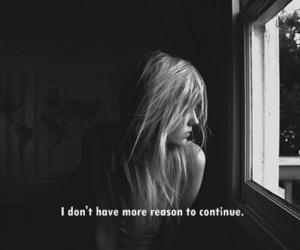 alone, girl, and sad image
