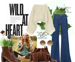 70s, boho, and clothing image