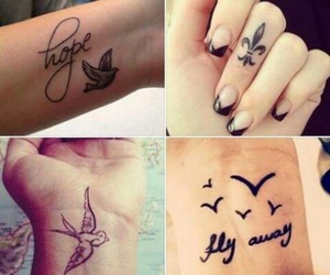 arms, fingers, and fly away image