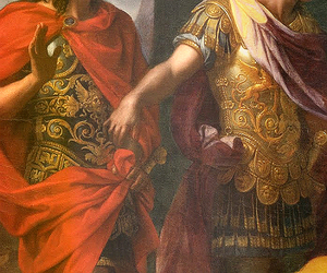 alexander, greek, and hephaistion image