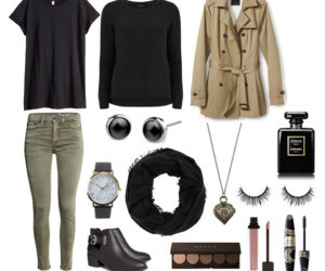 black, fashion, and outfits image
