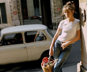 jane birkin and vintage image