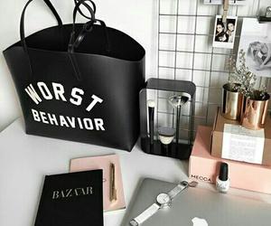 bag and desk image