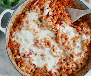 cheese, pasta, and italian food image