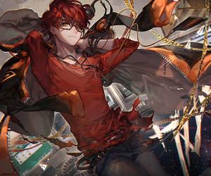 mystic messenger, 707, and anime image