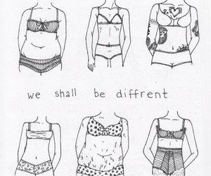 body, different, and quotes image