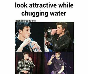 shawn mendes and water image