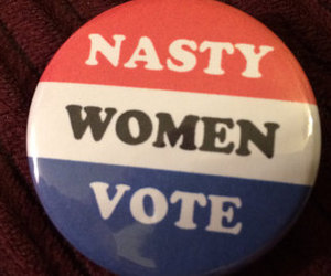 2016, button, and election image