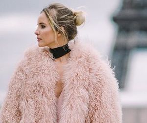 chic, luxe, and coat image