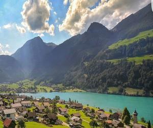 landscape, paisaje, and suiza image