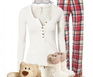 pajamas, pj, and christmas fashion image