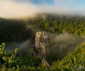 castle, fairytale, and medieval image