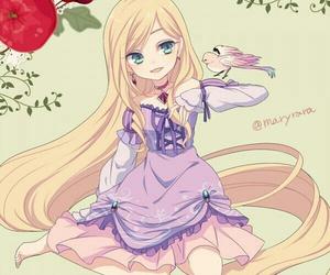 disney, rapunzel, and anime image