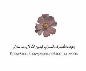 peace, god, and islam image
