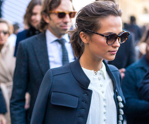 fashion, style, and alicia vikander image
