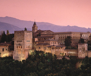 Alhambra, architecture, and castle image