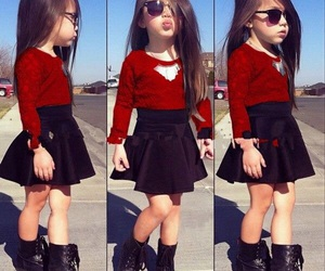 cheveux, chic, and enfant image