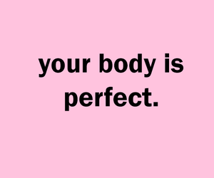 body, pink, and quotes image