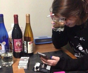 alcohol, feels, and loneliness image