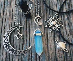 crystal, moon, and sun image
