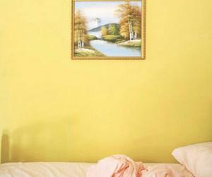 yellow, interior, and tumblr image