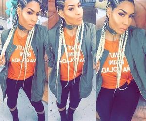 hairstyle, melanin, and cornrow braids image