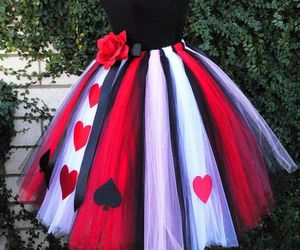 alice in wonderland and red image