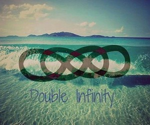 infinity, double, and love image