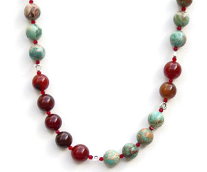 etsy, gemstone jewelry, and statement necklace image