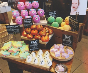 boo, lush cosmetics, and bubble bar image