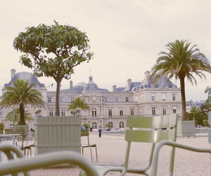 eiffel tower, france, and jardin du luxembourg image
