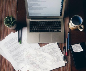 school, coffee, and study image