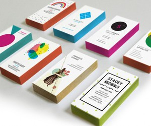business cards, thick business cards, and business card printing image