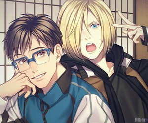 yurio and yuri on ice image