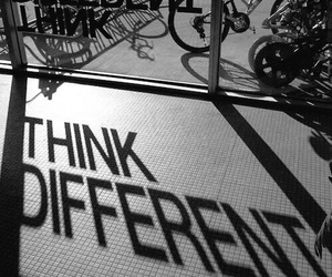 different, quotes, and think image
