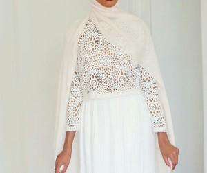 dress, hijab, and modest image
