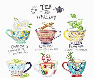 tea and healing image