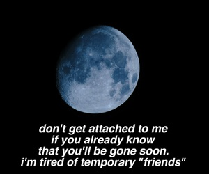 alone, attached, and love quotes image