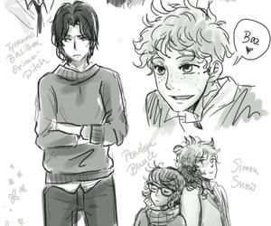 Agatha, simon, and baz image