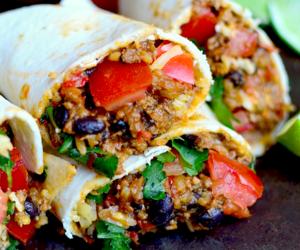 burritos and food image