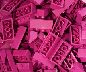 lego, pink, and texture image