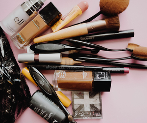 Brushes, cool, and cosmetics image