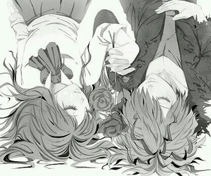 anime, ib, and garry image
