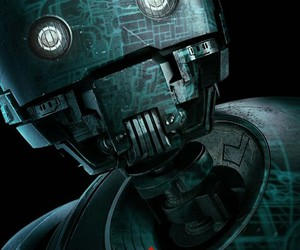 star wars, rogue one, and k-2so image