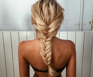 beauty, hair, and bikini image