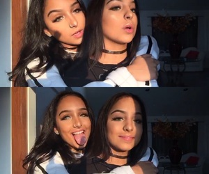 goals, makeup, and sisters image