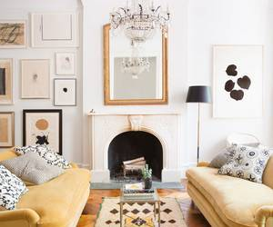 classic modern, ali cayne, and townhouse decorating image